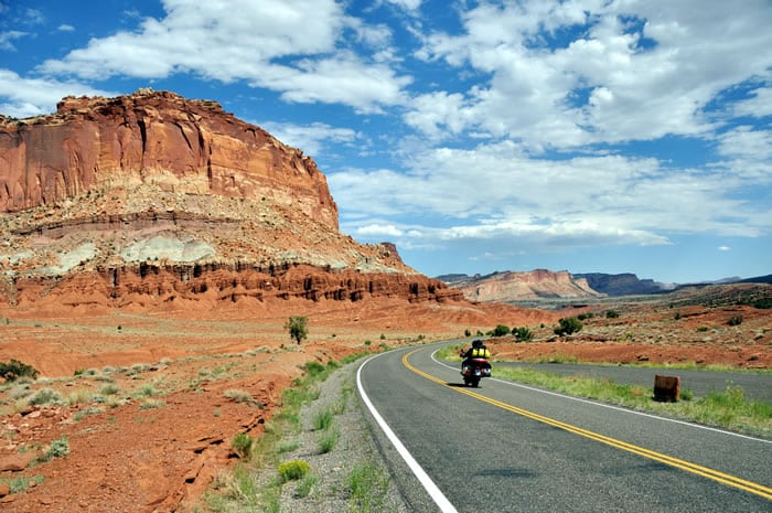 Route 66 motorcycle ride