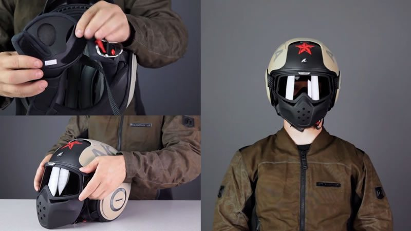 Shark Raw Motorcycle Helmet
