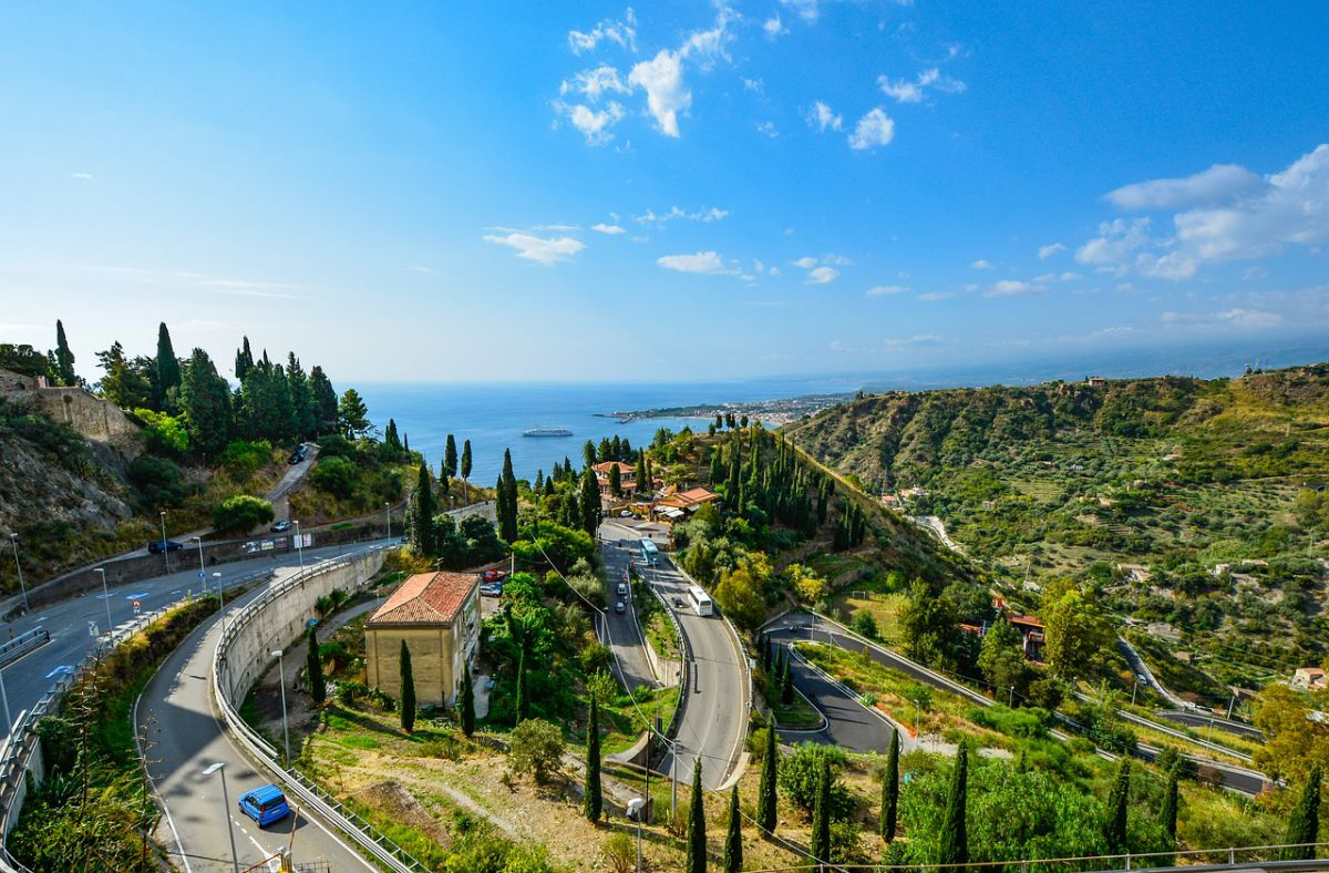 Sicily motorcycle ride