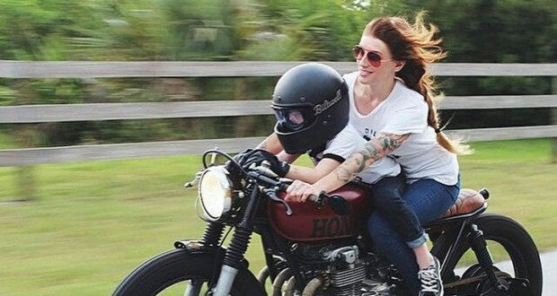 Single Parenthood on a Motorcycle