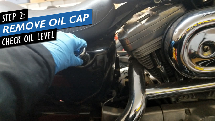 Sportster Oil Change How To
