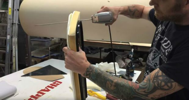 How to make a motorcycle seat