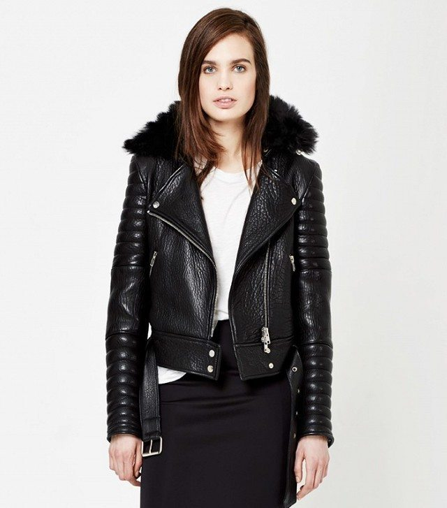 The Arrivals Rainier Leather Moto Jacket