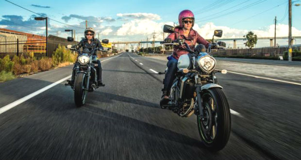 The Number of Women Motorcyclists Have Doubled