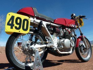 The Vintage Monkey race bike CL350