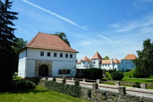 The castle of Varazdin