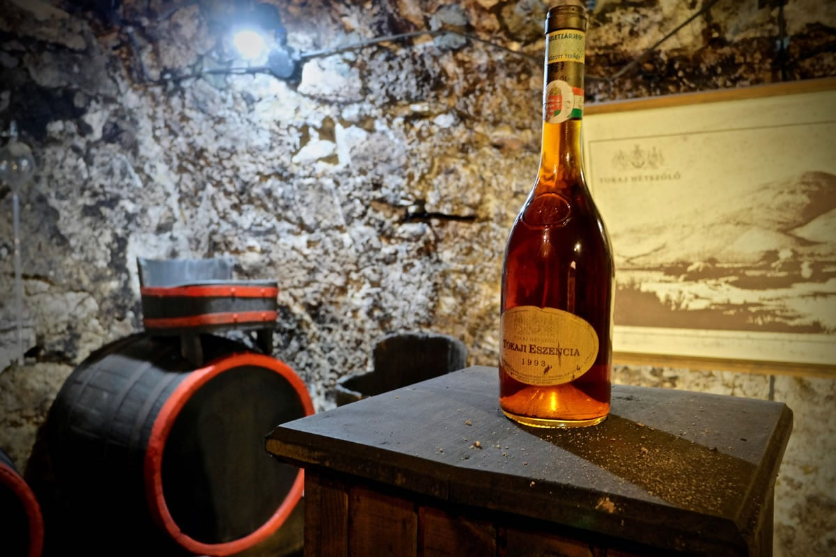 The sickly sweet Aszu of Tokaj