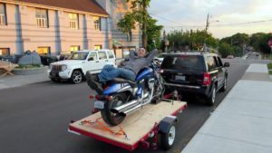Motorcycle Tow in Toronto