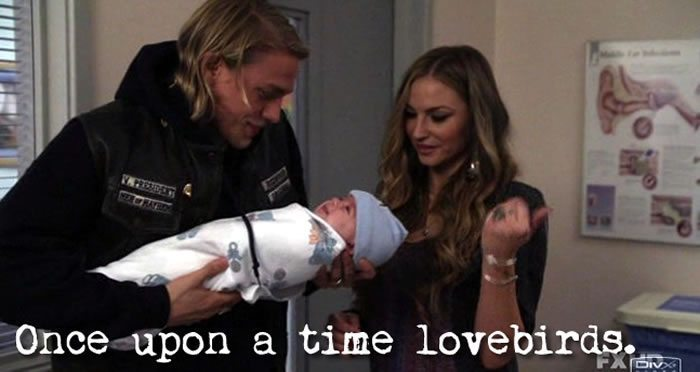Wendy Case - Jax Teller - Once Upon a Time Lovebirds - Sons of Anarchy