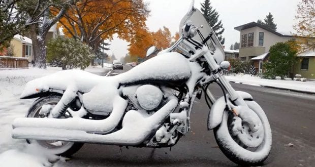 Where to Store Your Motorcycle for the Winter in Toronto