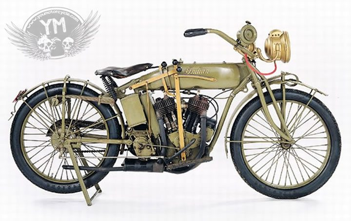 World War 1 Indian Motorcycle