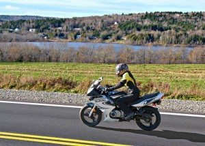 Motorcycle ride on Highway 2