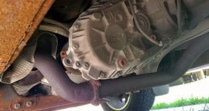 ford f150 transfer case with transmission fluid leaking in