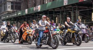 Gay Pride Parade NYC 2013 - LGBT Motorcyclists