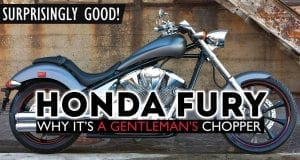 honda fury test ride review