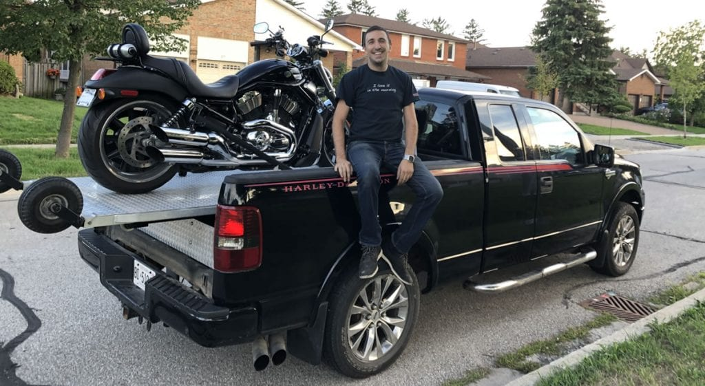 Motorcycle towing in the Greater Toronto Area or anywhere in Ontario