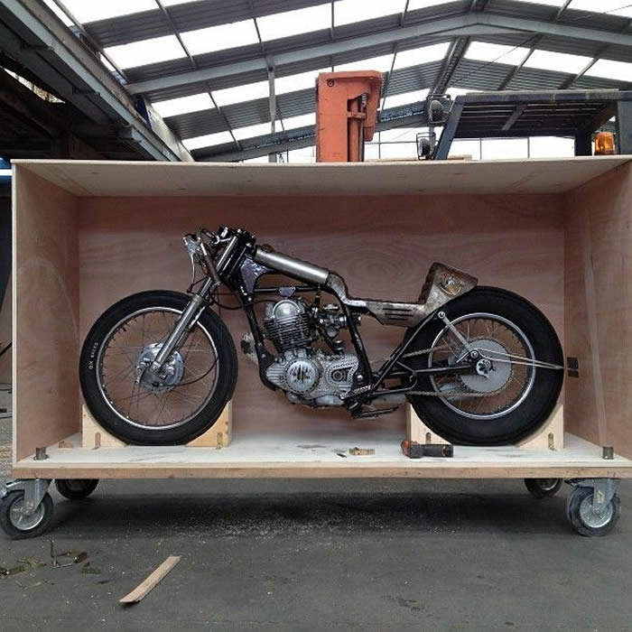 motorcycle transportation