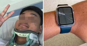 motorcyclist life saved by watch