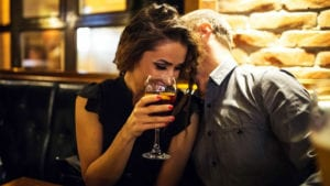 online dating tips dinner and drinks