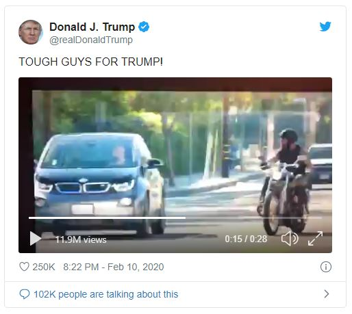 Tough guys for trump tweet